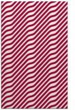 rug #1017853 |  red stripes rug