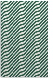 rug #1017869 |  green stripes rug