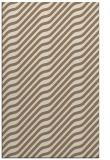 rug #1017885 |  mid-brown stripes rug