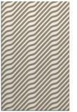 rug #1017889 |  mid-brown stripes rug