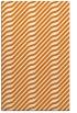 rug #1017937 |  orange stripes rug