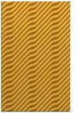 rug #1018057 |  light-orange stripes rug