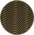 rug #1018125 | round mid-brown stripes rug