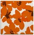 rug #101813 | square red-orange natural rug