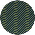 rug #1018141 | round blue animal rug