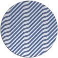 rug #1018145 | round blue animal rug