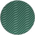 rug #1018153 | round blue-green animal rug