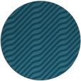 rug #1018169   round blue-green animal rug