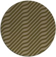 rug #1018213 | round brown stripes rug