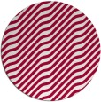 rug #1018217 | round red stripes rug