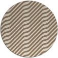 rug #1018249 | round beige animal rug