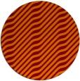 rug #1018297 | round orange stripes rug