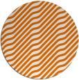 rug #1018301 | round orange rug