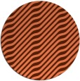 rug #1018309 | round orange rug