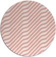 rug #1018325 | round white animal rug