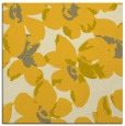 rug #101833 | square yellow rug