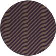 rug #1018337 | round purple rug