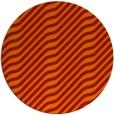 rug #1018349 | round orange animal rug