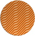 rug #1018365   round red-orange animal rug