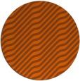 rug #1018369 | round red-orange animal rug