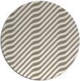 rug #1018405   round white stripes rug