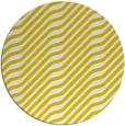 rug #1018417   round yellow animal rug