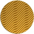 rug #1018421 | round light-orange stripes rug