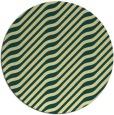 rug #1018425 | round yellow animal rug