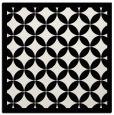 rug #1019181   square black circles rug