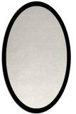 rug #1019545 | oval plain black rug
