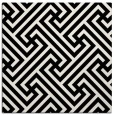 rug #1019661   square black retro rug