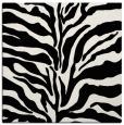 rug #1019701 | square black animal rug