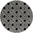 rug #1019713 | round black retro rug
