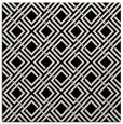 rug #1019721 | square black retro rug