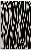 rug #1019809 |  black stripes rug