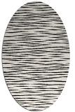 rug #1019845   oval black rug