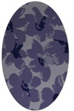 rug #101985 | oval blue-violet popular rug