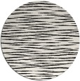 rug #1019853 | round black natural rug