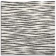 rug #1019861 | square black rug