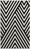 rug #1019949 |  black stripes rug