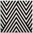 rug #1019961 | square black graphic rug