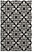 rug #1020054 |  black traditional rug