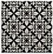 rug #1020066 | square black popular rug