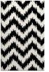 rug #1020094    black stripes rug