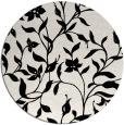 rug #1020158 | round black natural rug