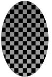 rug #1020212   oval check rug