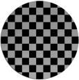 rug #1020220 | round check rug