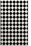 rug #1020394 |  black check rug