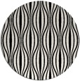 rug #1020418 | round black retro rug