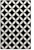 rug #1020594 |  black circles rug